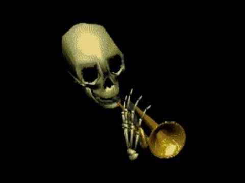Spooky skeletal doot